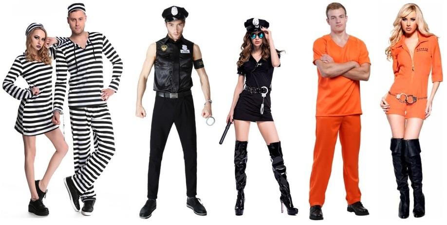 Одежда для тюремной вечеринки