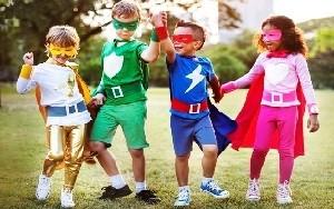 Детская вечеринка супергероев