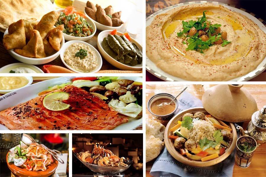 Египетская кухня на вечеринку