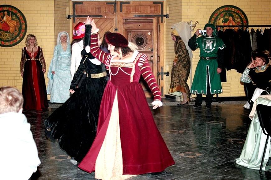 развлечения на средневековой вечеринке