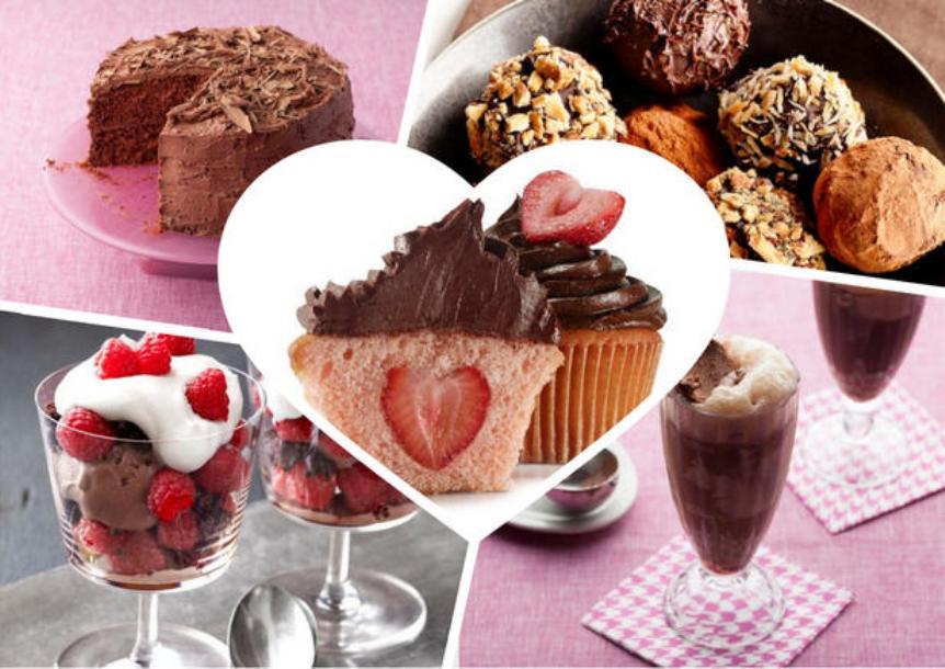 Сладкое меню на день Влюбленных