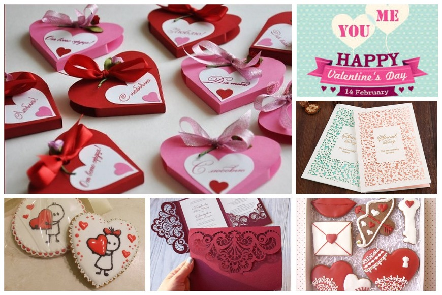 Пригласительные на День влюбленных