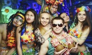 Гавайская вечеринка, что надеть
