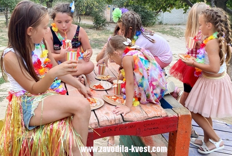 Гавайская вечеринка для детей своими руками