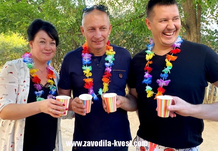 Детская тематическая вечеринка гавайи