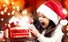 идеи вручение новогодних подарков детям 4 5 6 7 лет